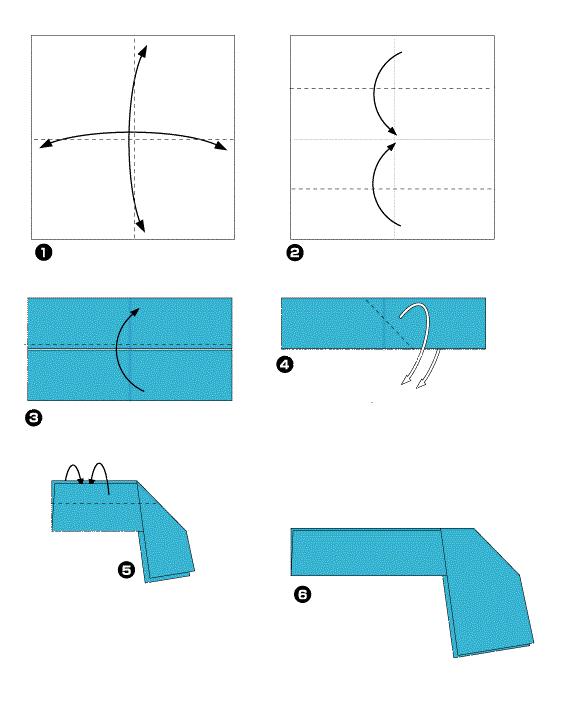 Как сделать из бумаги легко нож